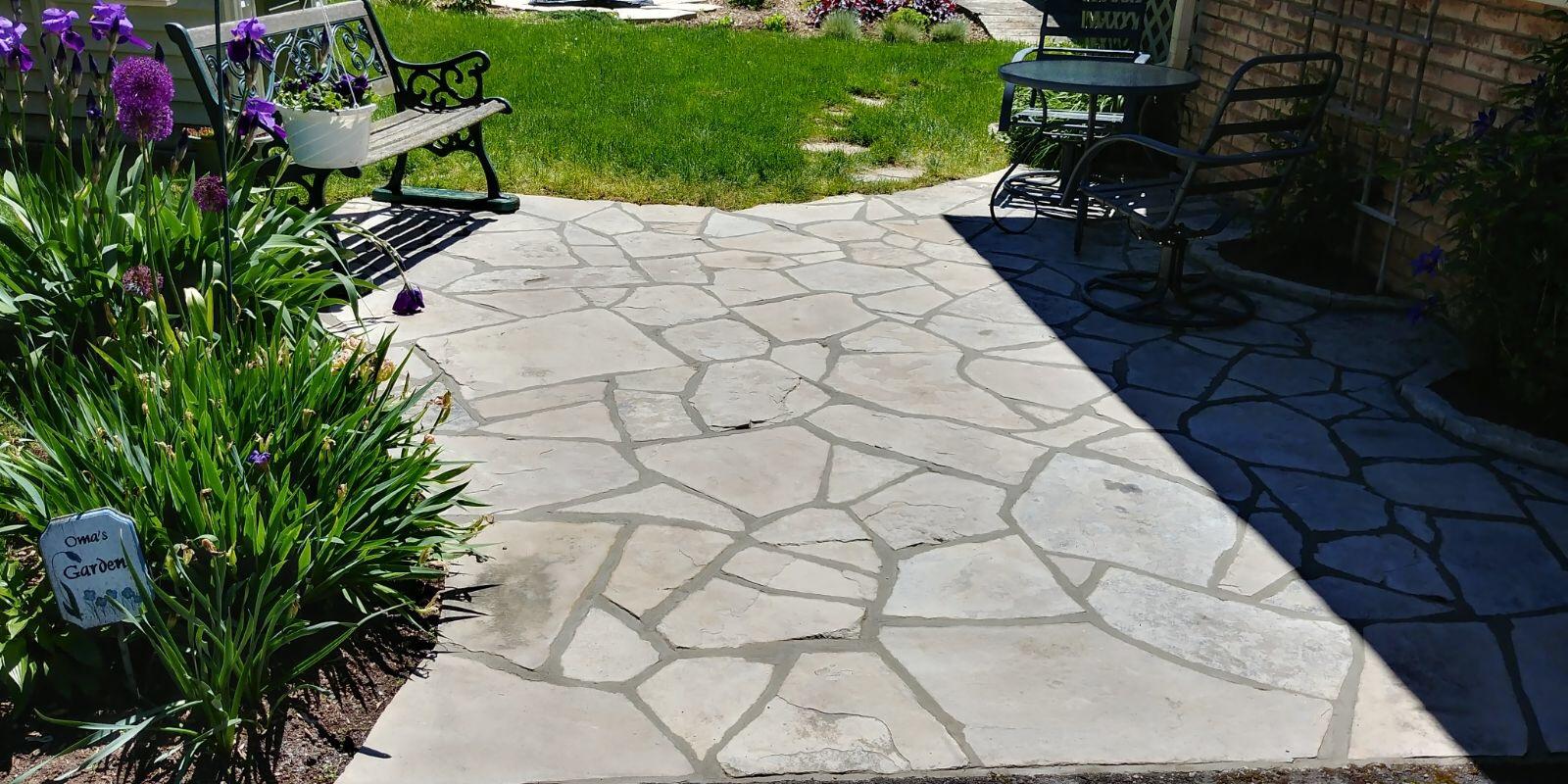 restore stone patio